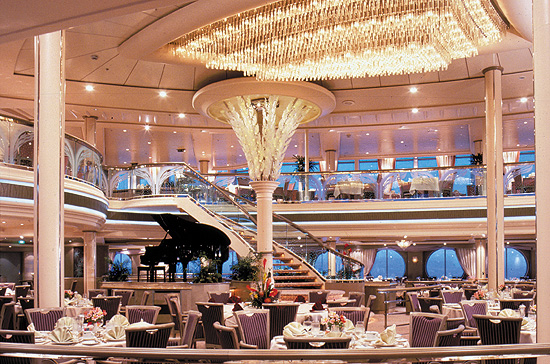 RCCL Rhapsody of the Seas Dinning Room Kreuzfahrt