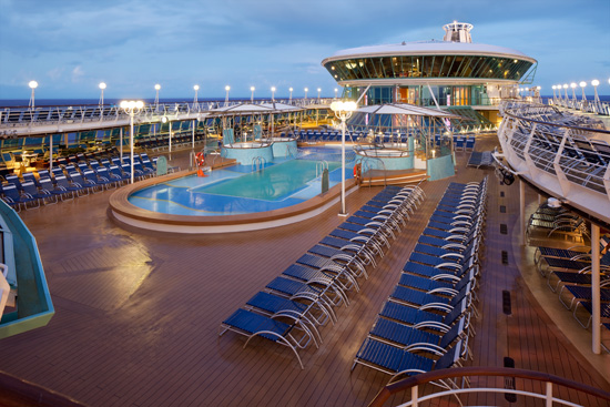 RCCL Rhapsody of the Seas Solarium Kreuzfahrt